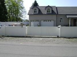 Spokane S Neighborhood Fence Company Inc Vinyl Fence
